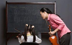 Kháo học đàn Violin