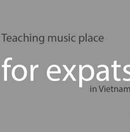 Professional teaching music place for expats in Vietnam